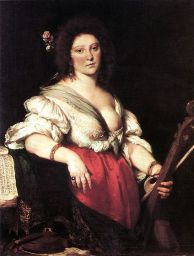Portrait of Barbara Strozzi