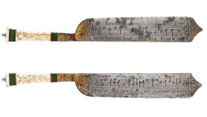 Renaissance Notation Knife, about 1550